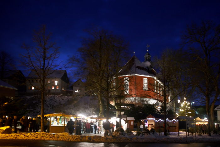 Wintermarkt, Altenau, Harz